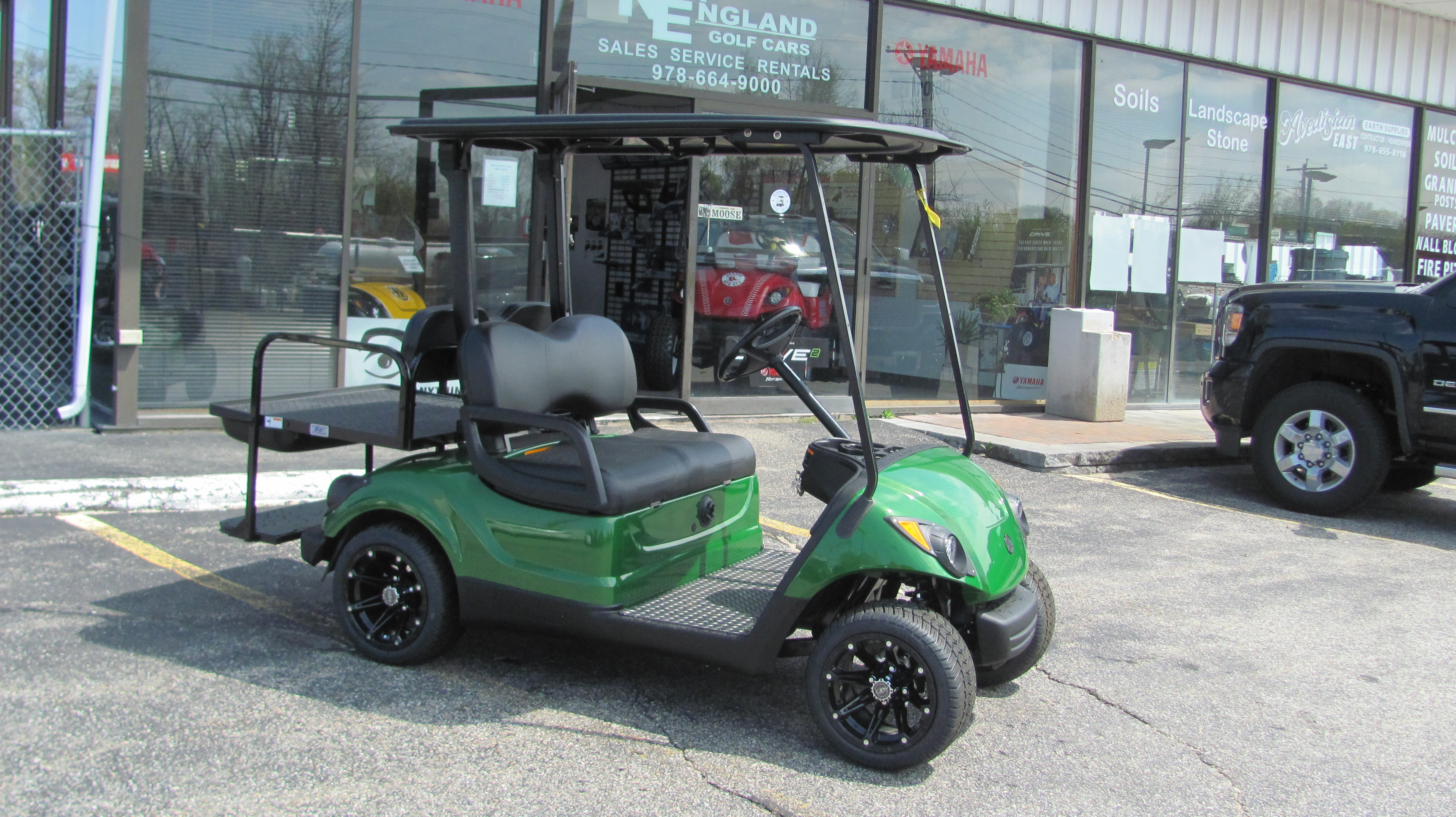 Completely reconditioned 2013 yamaha electric green for New england motor car